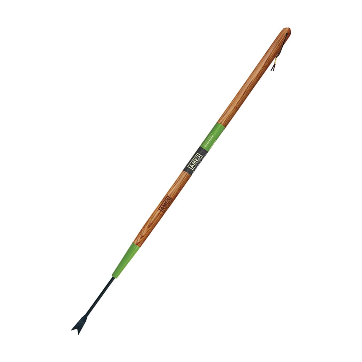 Picture of AMES 2942100 Forged Dandelion Weeder, Steel Blade, V-Notched Blade, Hardwood Handle