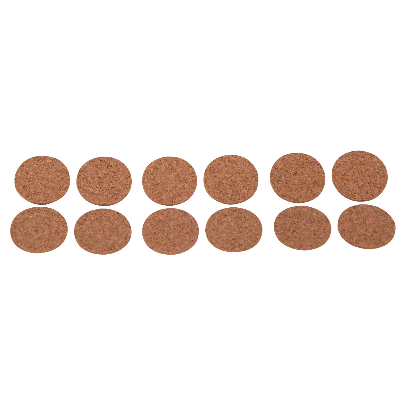 Picture of ProSource FE-50702-PS Furniture Pad, Wood, Brown, 1 in Dia, Round