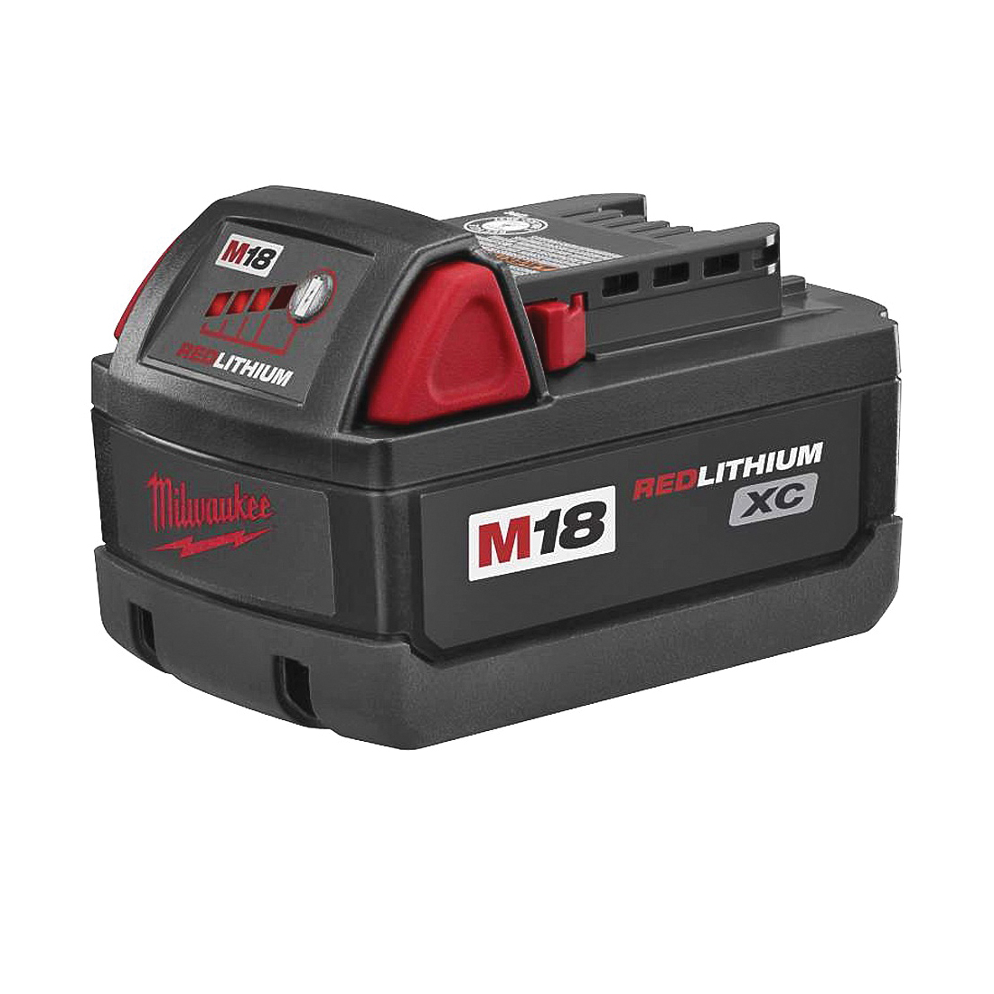 Picture of Milwaukee 48-11-1828 Battery Pack, 18 V Battery, 3 Ah