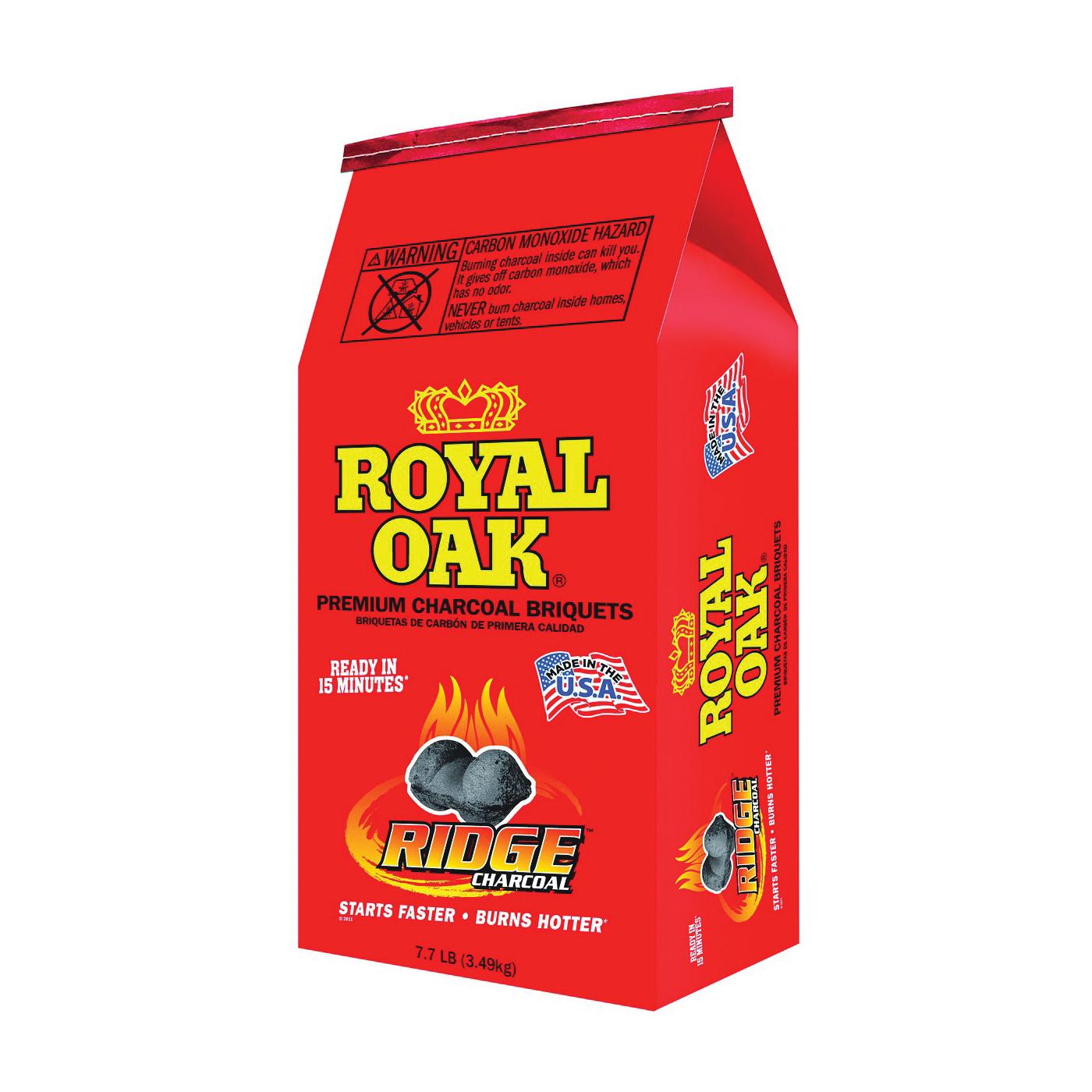 Picture of ROYAL OAK 192-294-107 Charcoal Briquettes, 7.7 lb Package, Bag