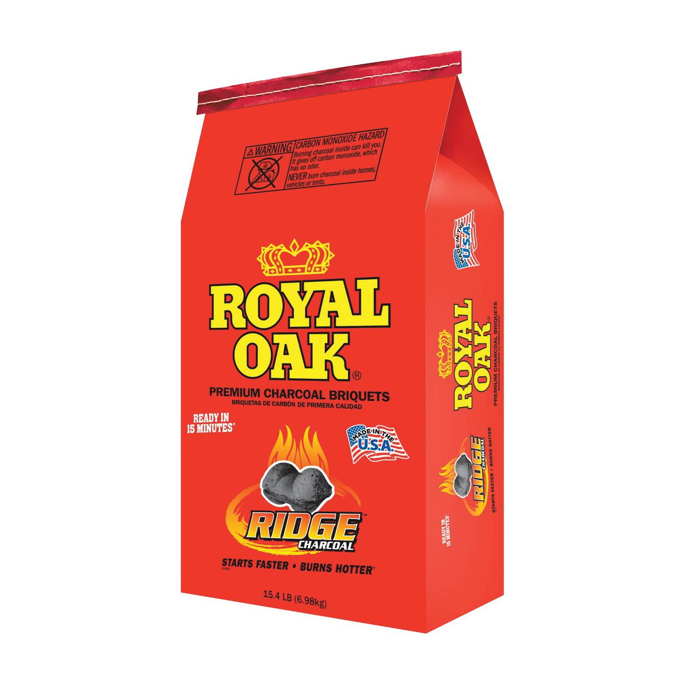 Picture of ROYAL OAK 192-294-021 Charcoal Briquettes, 15.4 lb Package, Bag