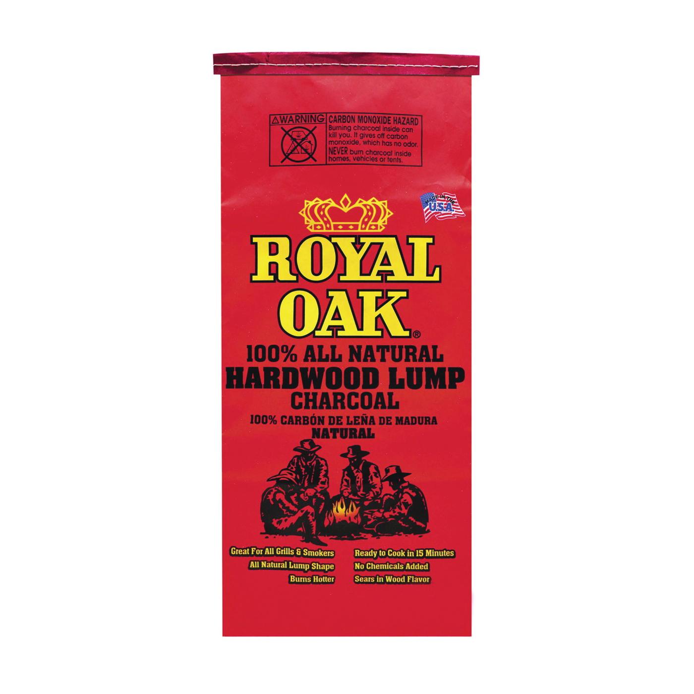 Picture of ROYAL OAK 195-228-123 Lump Charcoal, 8.8 lb Package, Bag