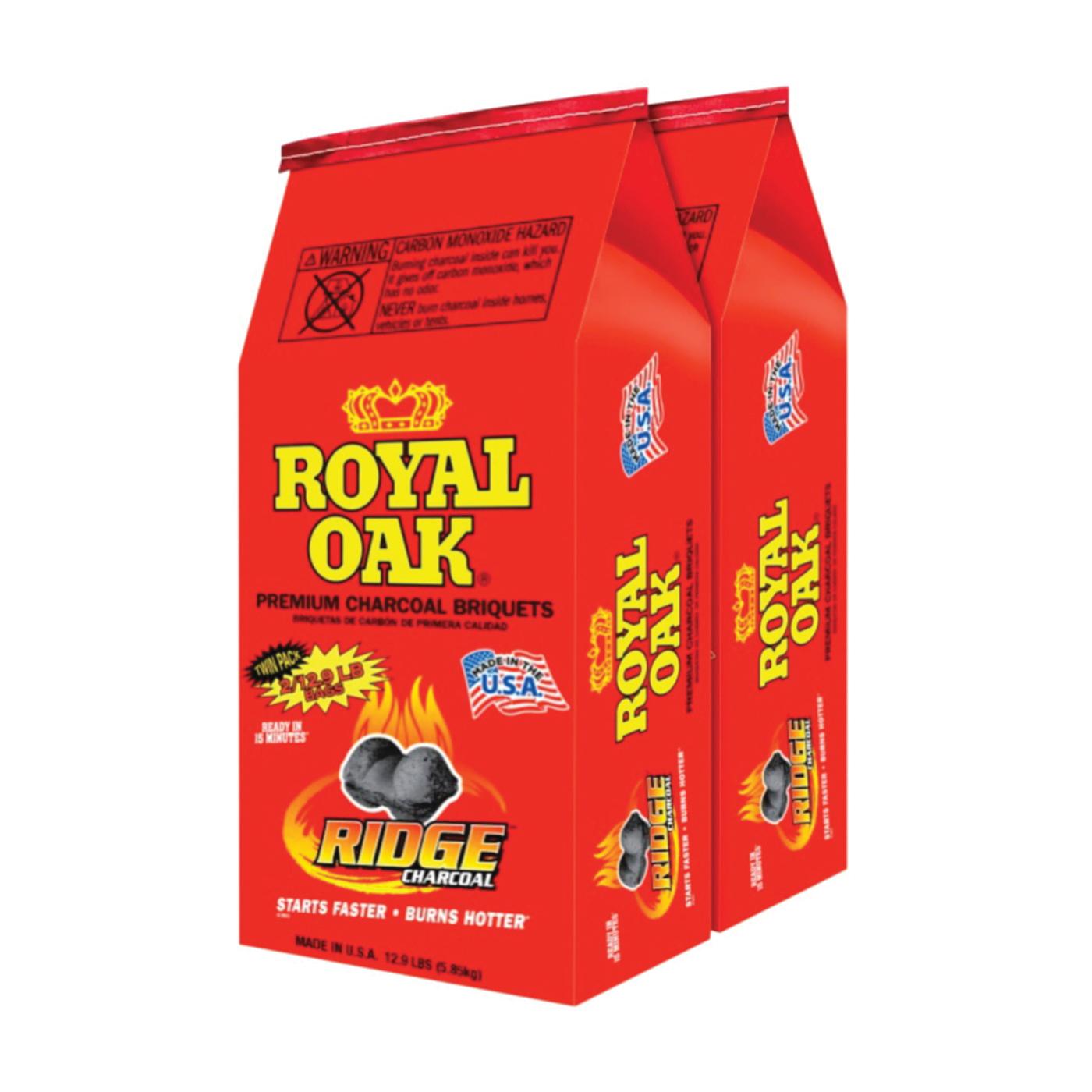 Picture of ROYAL OAK 192-294-116 Charcoal Briquettes, 12.9 lb Package, Bag