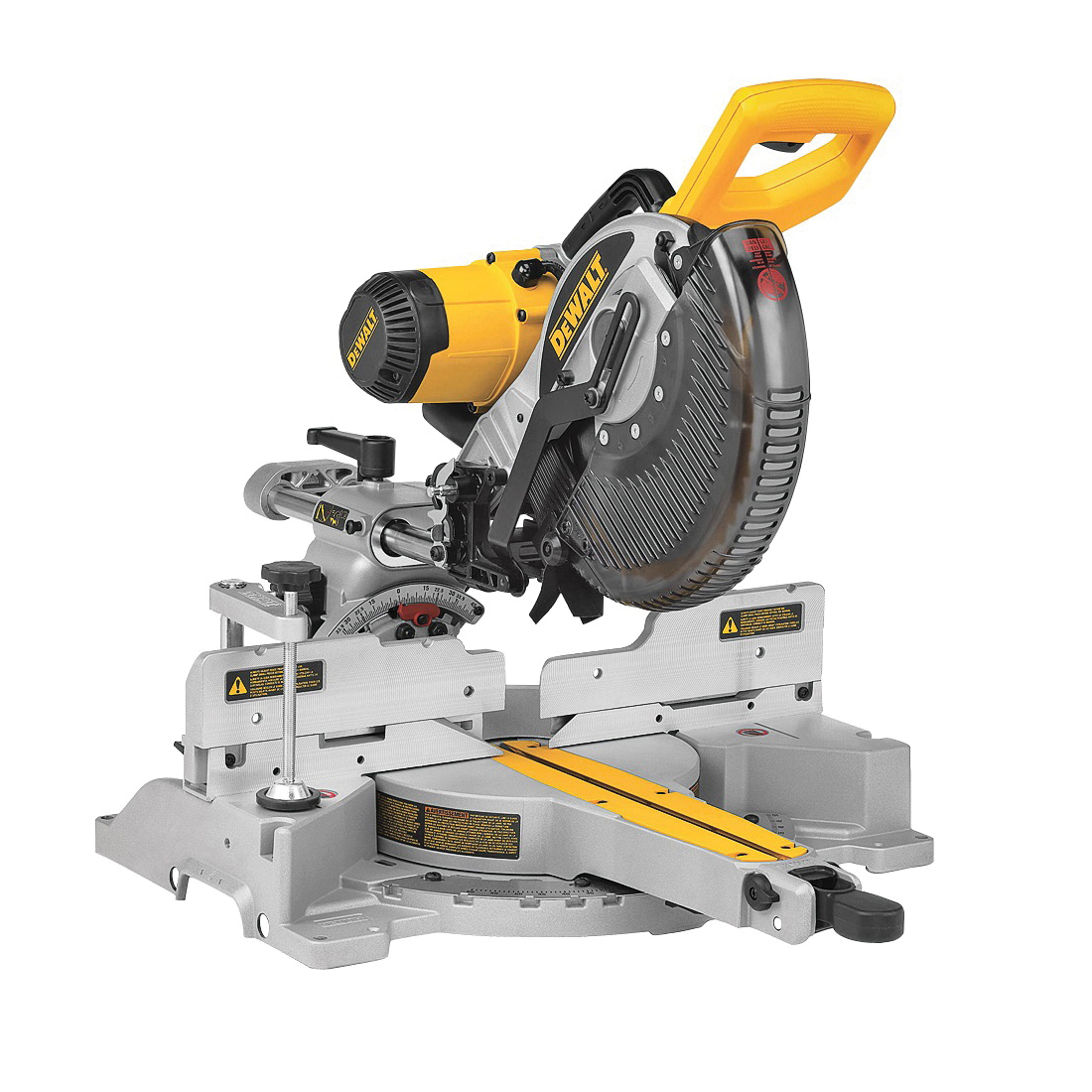 Picture of DeWALT DW717 Miter Saw, 120 V, 15 A, 10 in Dia Blade, 2 x 12 in at 45 deg, 2 x 12 in at 90 deg Cutting Capacity
