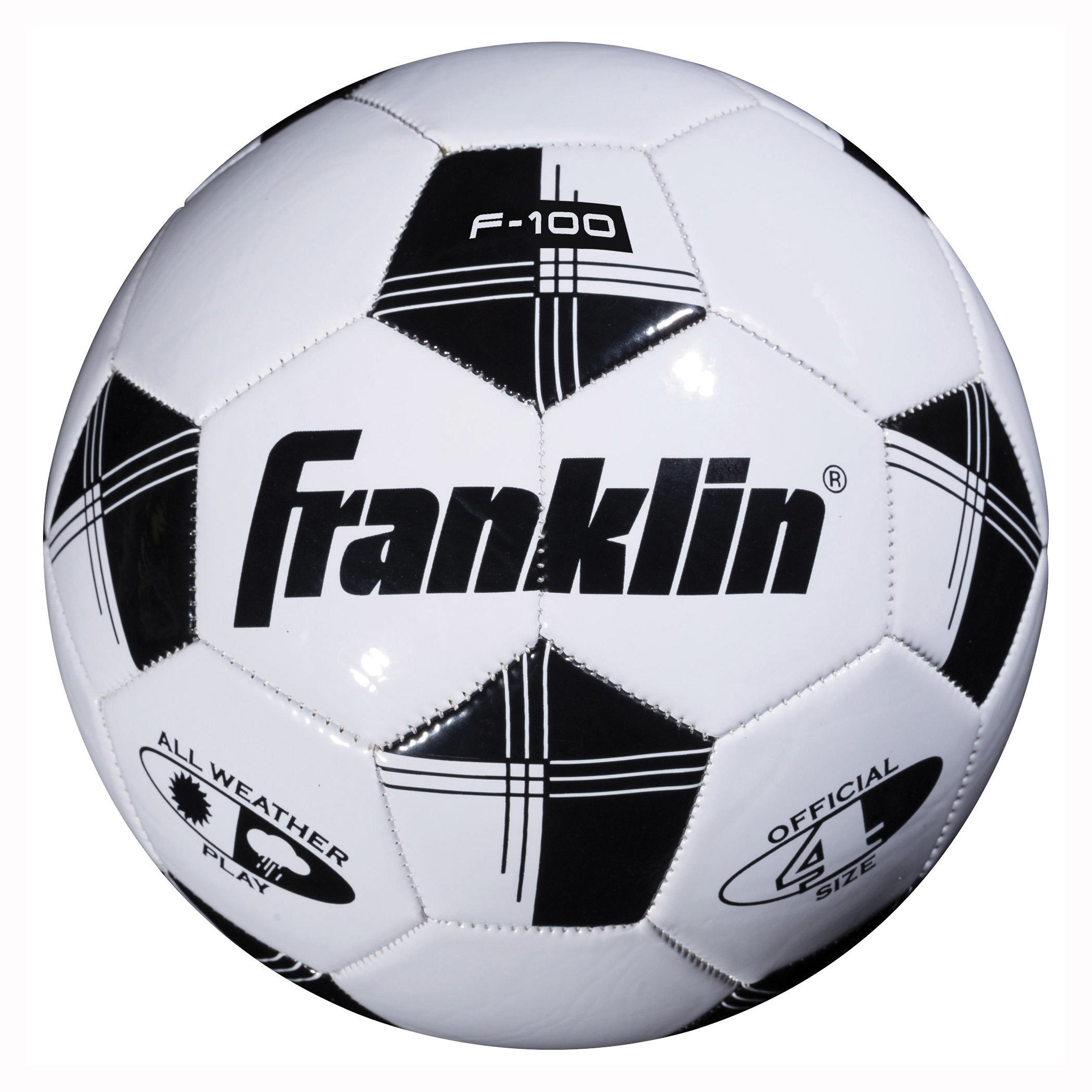 Picture of Franklin Sports Competition 100 6783 Soccer Ball, 4 in Dia, PVC, 6, Pack