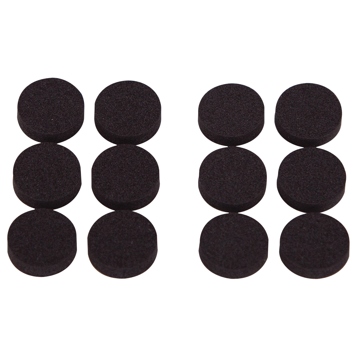 Picture of ProSource FE-50720-PS Furniture Pad, Rubber, Black, 3/4 in Dia, Round