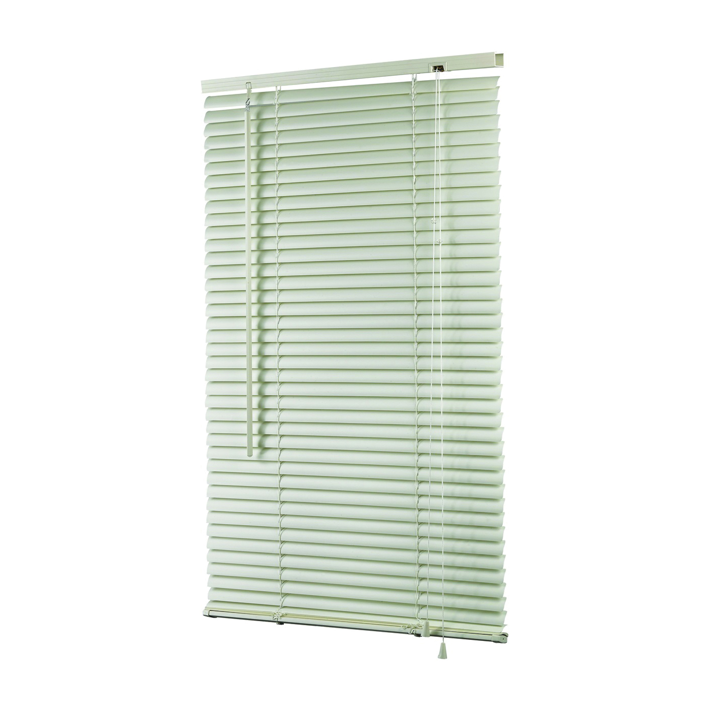 Picture of Simple Spaces MBV-36X64-3L Mini-Blinds, 64 in L, 36 in W, Vinyl, White