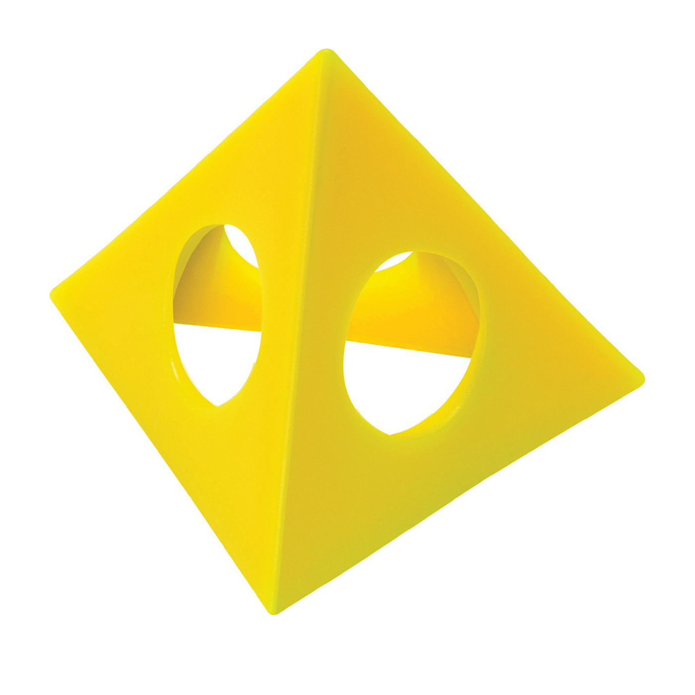 Picture of HYDE 43510 Painters Pyramid, Plastic, Yellow, 10, Pack