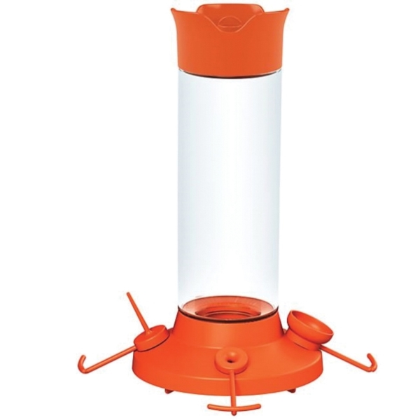 Picture of Perky-Pet 209BO-4 Fruit Trio Oriole Nectar Feeder, 30 oz, Jelly, Nectar, Orange Slices, 4-Port/Perch