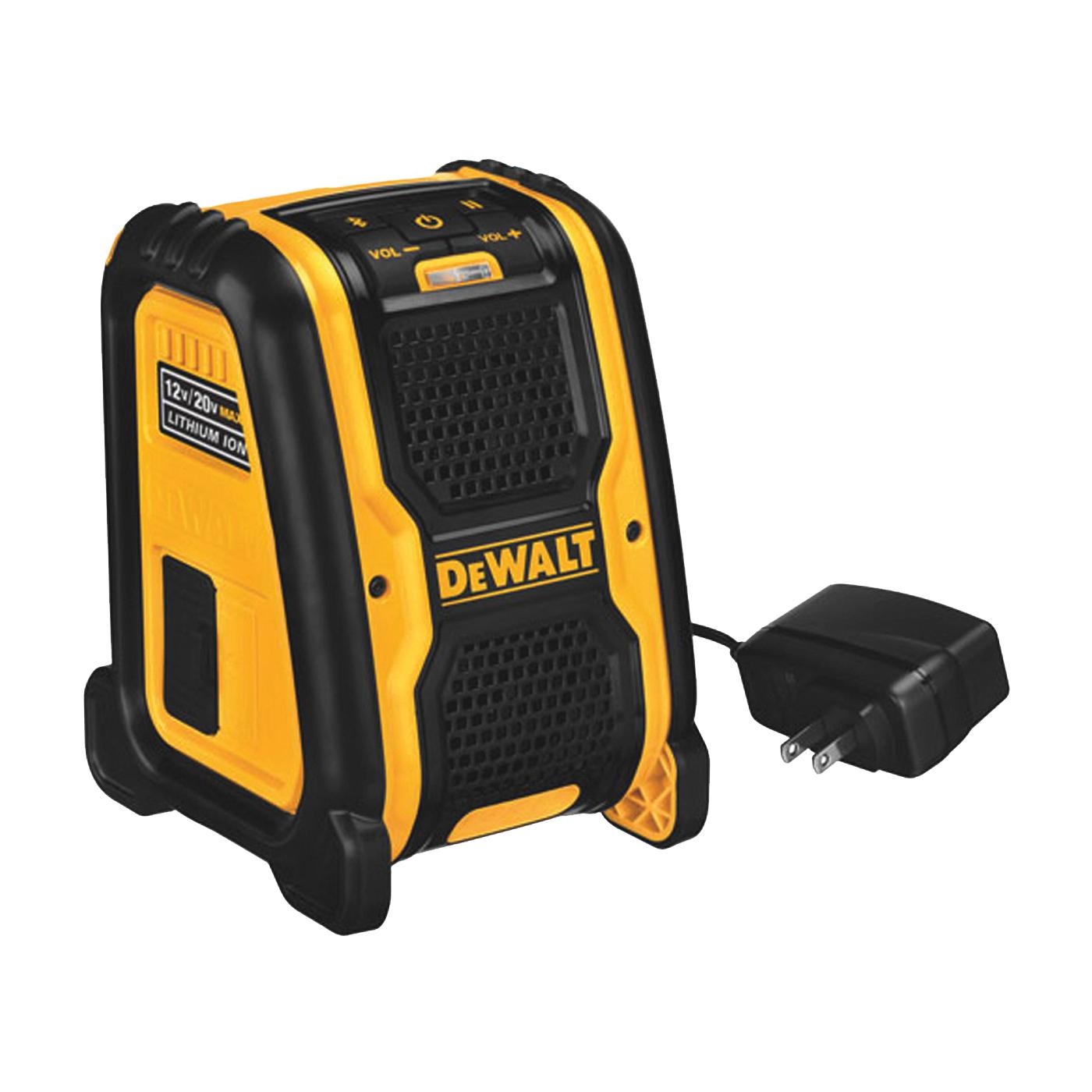 Picture of DeWALT DCR006 Bluetooth Speaker, 12, 20 V Battery, 1.5 Ah