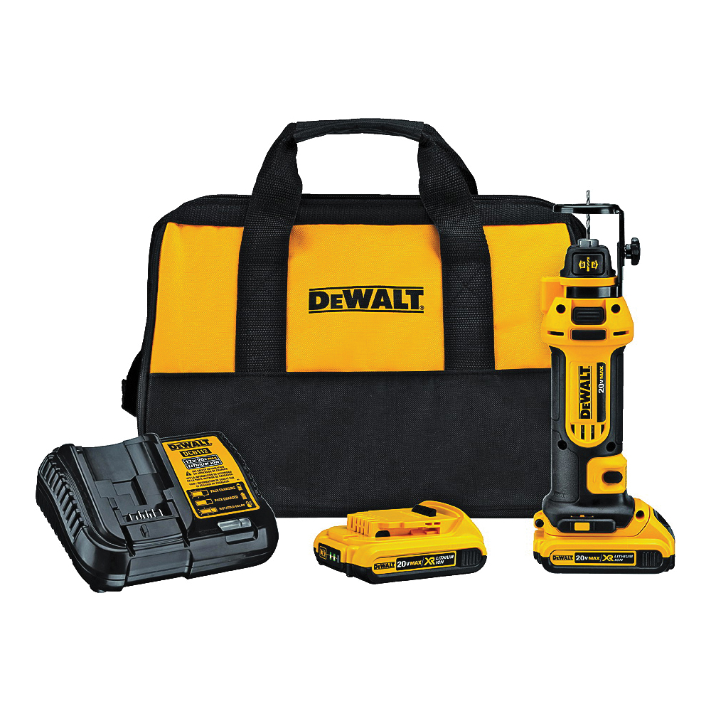 Picture of DeWALT DCS551D2 Max Series Drywall Cut-Out Tool Kit
