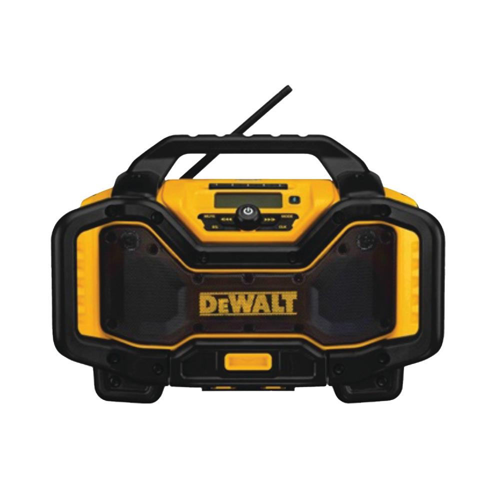 Picture of DeWALT DCR025 Charger Radio, 20, 60 V Battery, 6 Ah