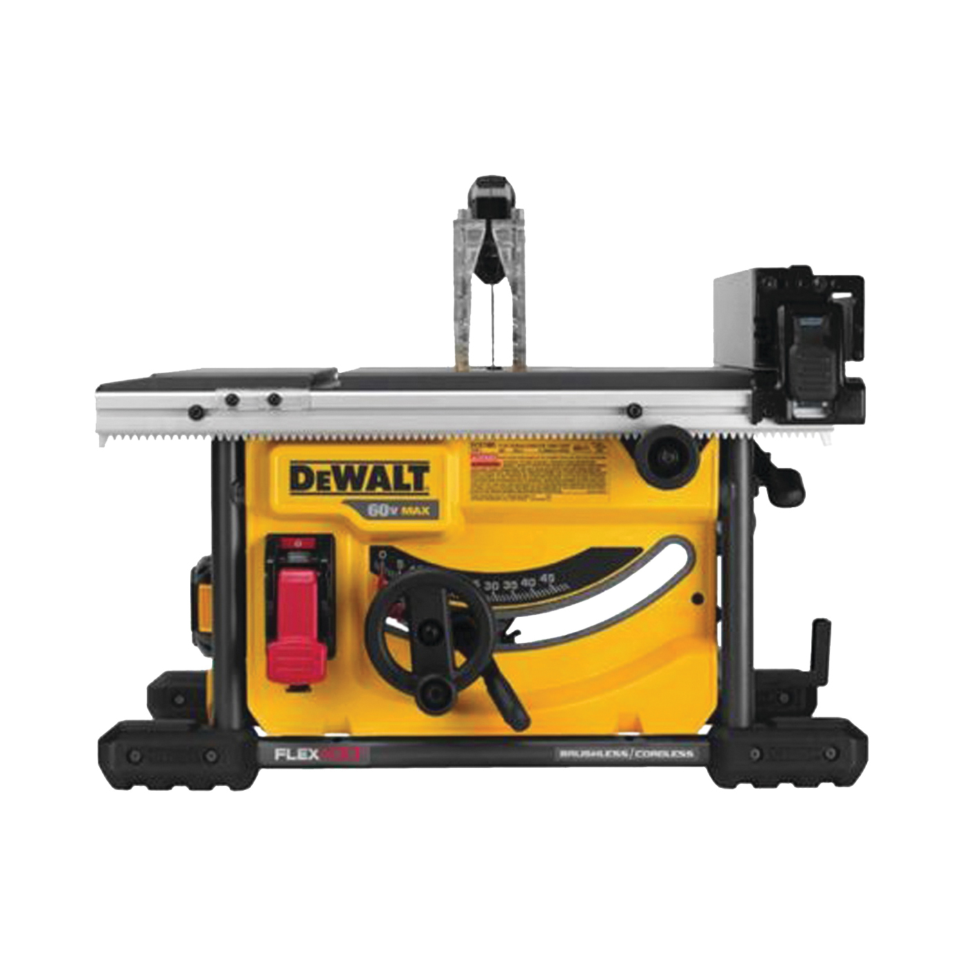 Picture of DeWALT FLEXVOLT DCS7485T1 Table Saw, 60 V, 8-1/4 in Dia Blade, 5/8 in Arbor, 5800 rpm Speed