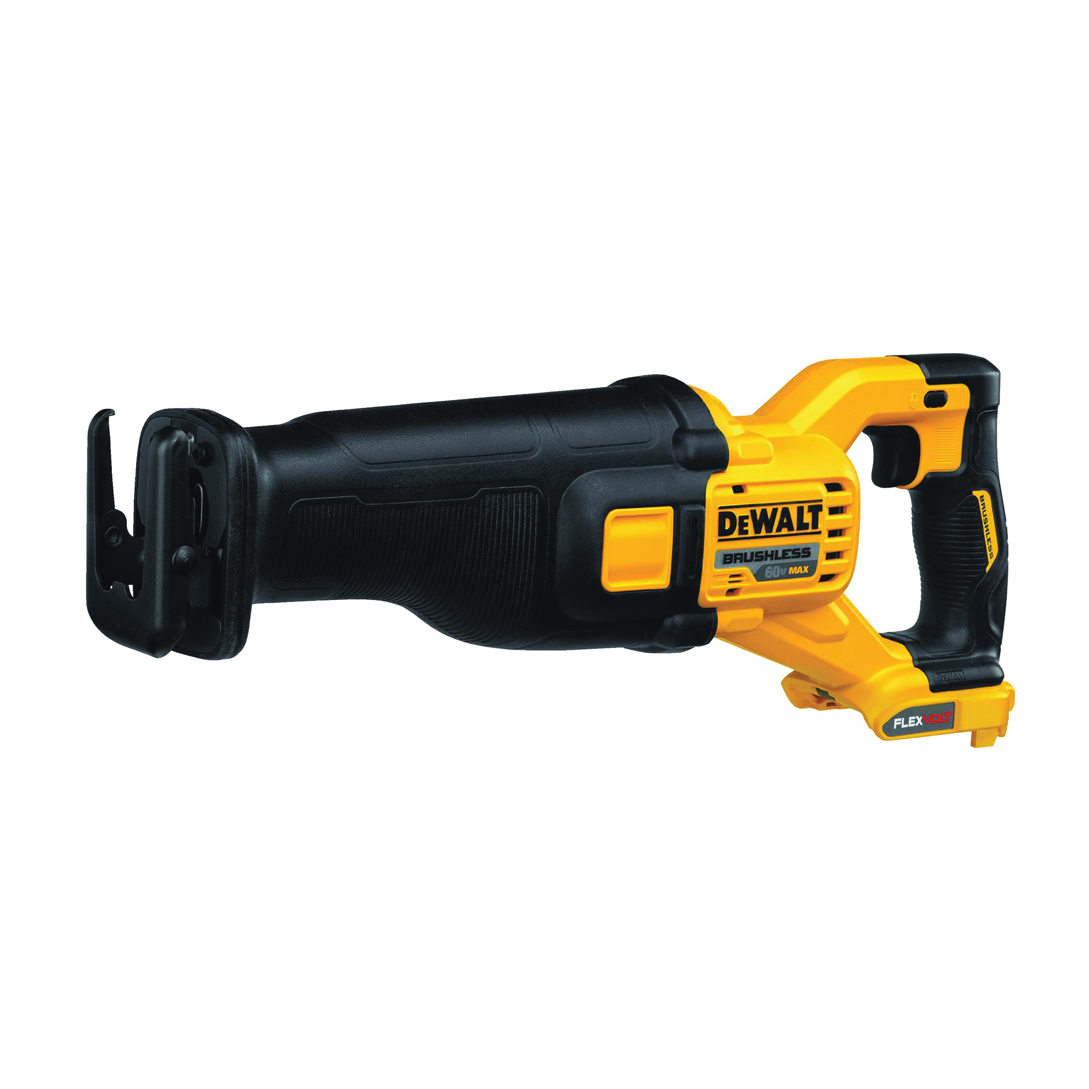 Picture of DeWALT DCS388B Reciprocating Saw, Bare Tool, 60 V Battery, 1-1/8 in L Stroke, 0 to 3000 SPM, Battery Included: No