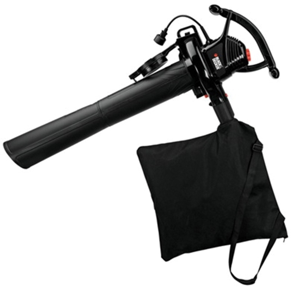 Picture of Black+Decker BV3100 Blower Vacuum, 12 A, 120 V, 2 -Speed