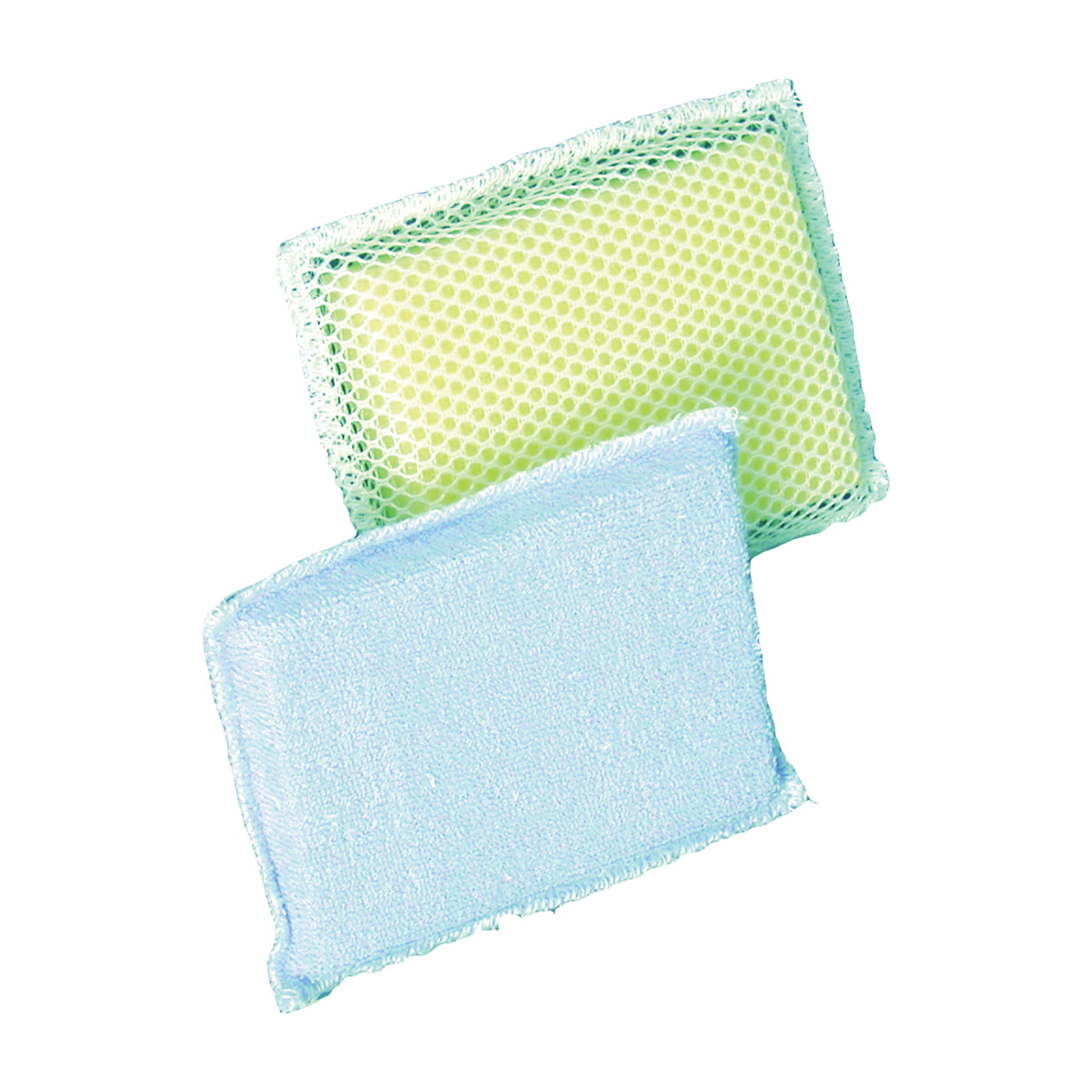 Picture of BIRDWELL 353-24 Scouring Sponge, 6-1/4 in L, 4 in W, 3/4 in Thick, Terry Cloth