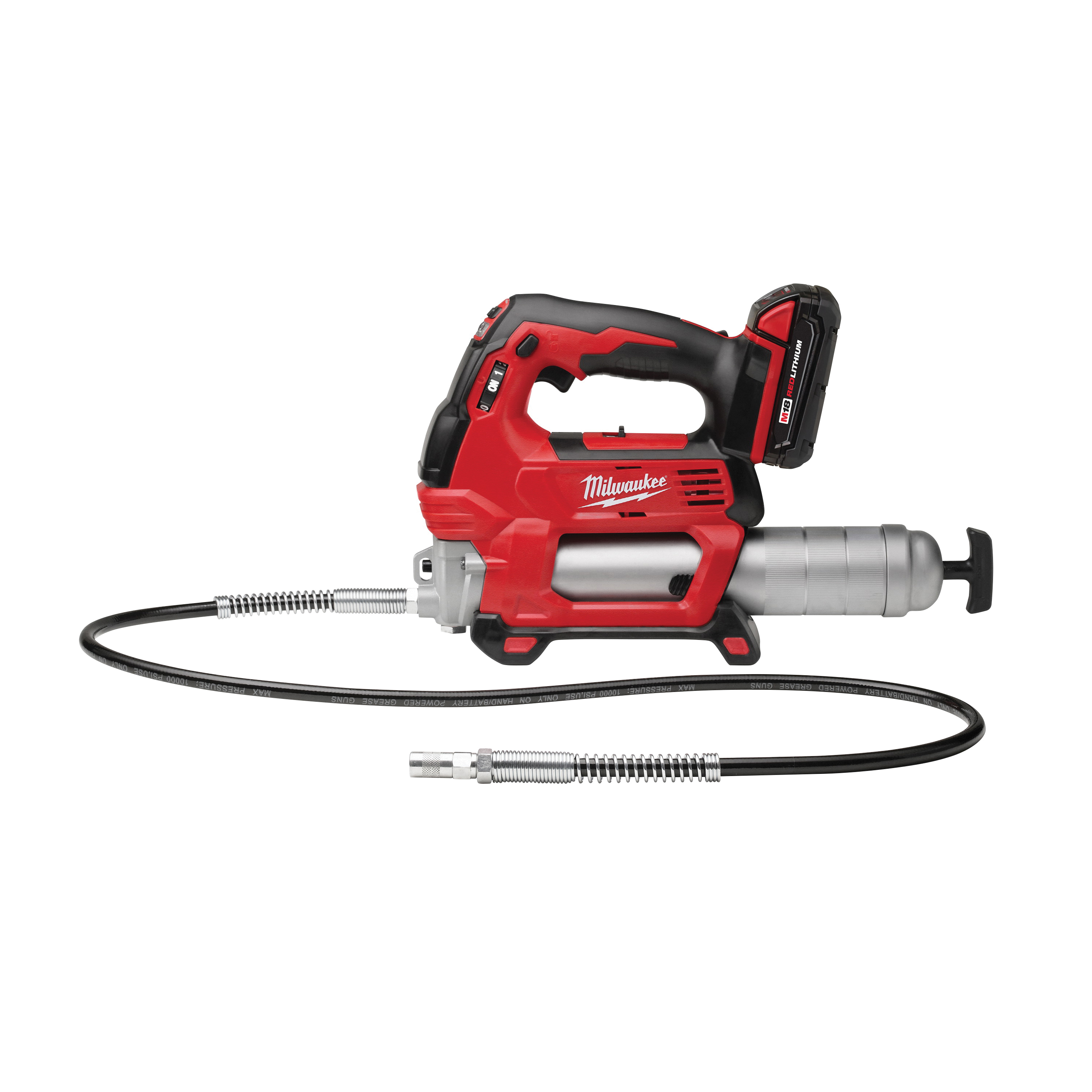Picture of Milwaukee M18 2646-21CT Grease Gun Kit, 10000 psi Pressure