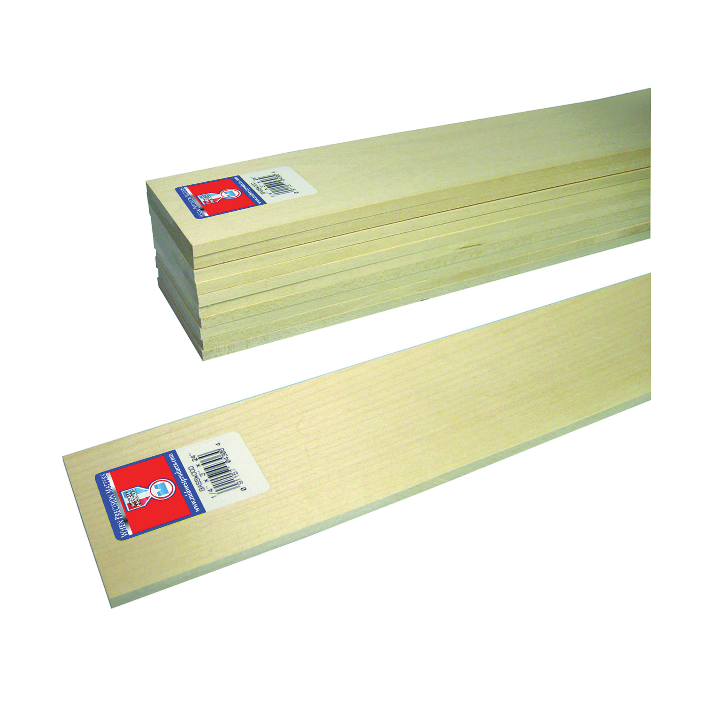 Picture of MIDWEST PRODUCTS 4306 Basswood Sheet, 24 in L, Basswood