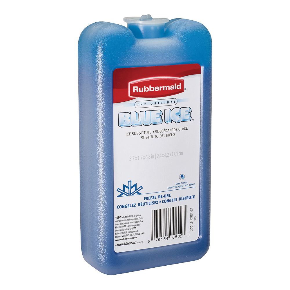 Picture of Rubbermaid BLUE ICE FG1080TL220 Ice Substitute Block, 14 oz, Blue