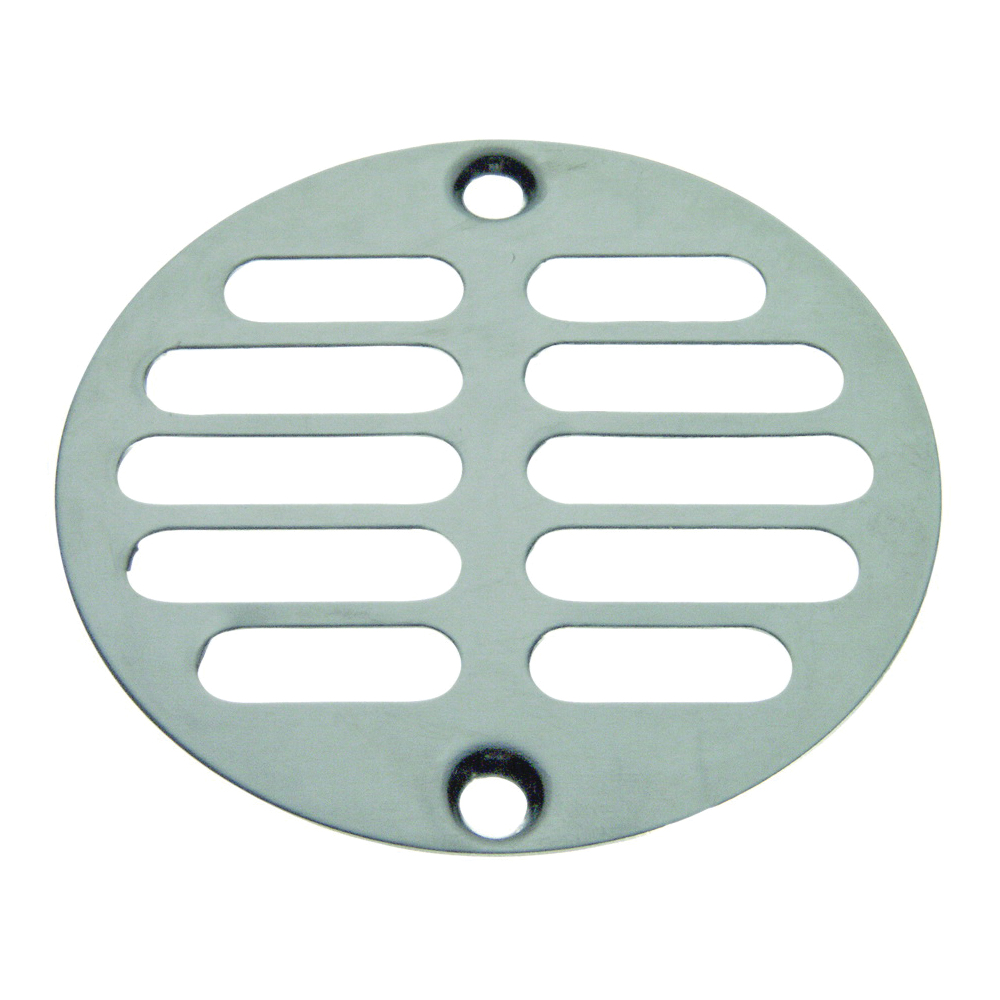 Picture of Danco 88921 Shower Drain Strainer, Brass, Chrome, For: 3 in Drains