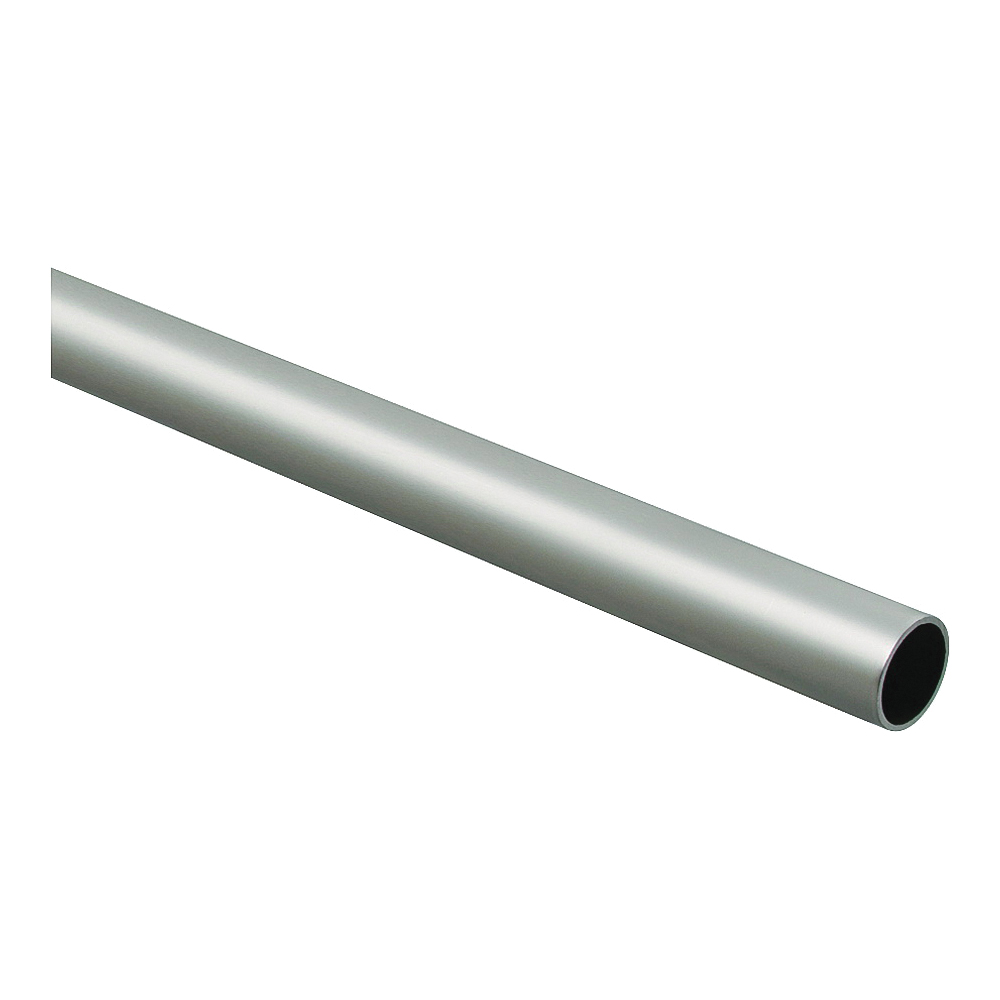 Picture of National Hardware BB8603 Series S822-097 Closet Rod, 1-5/16 in Dia, 6 ft L, Steel, Satin Nickel