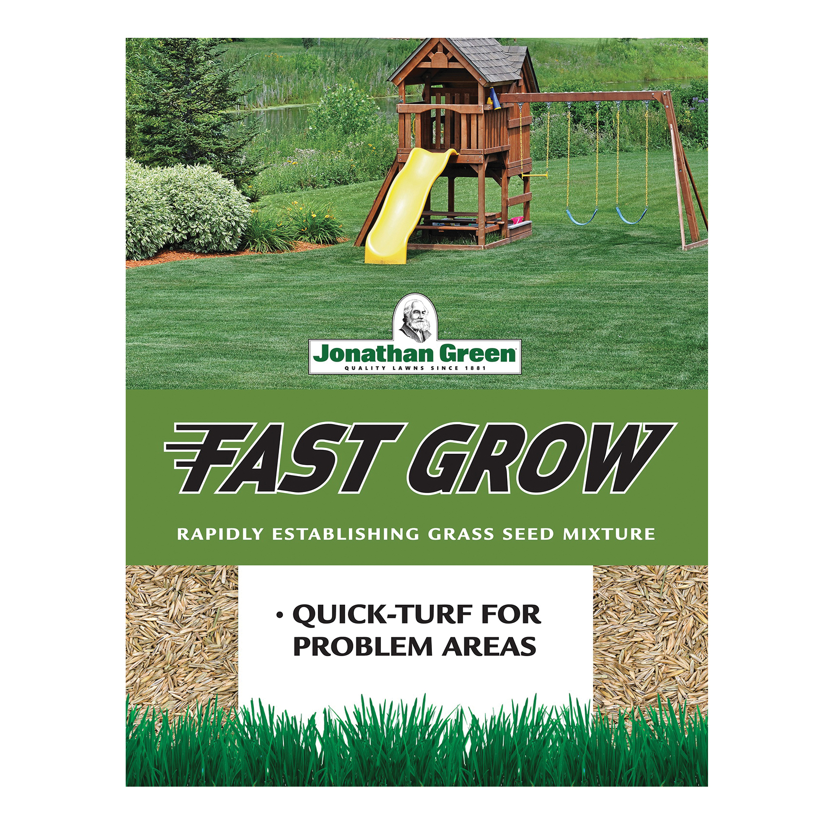 Picture of Jonathan Green 10820 Grass Seed, 3 lb Package, Bag