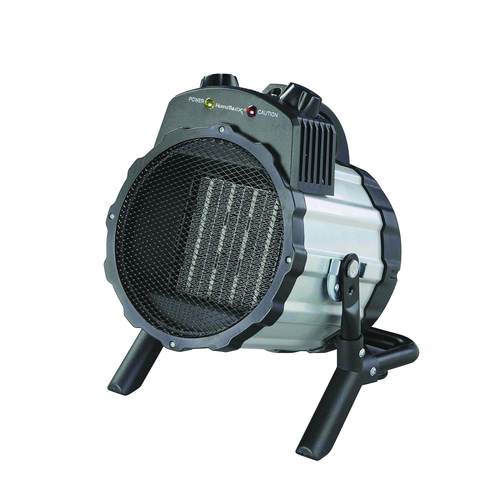 Picture of PowerZone BNT-15B2 Ceramic Utility Heater, 12.5 A, 120 V, 750/1500 W, 1500W Heating, 2-Heat Setting, Grey