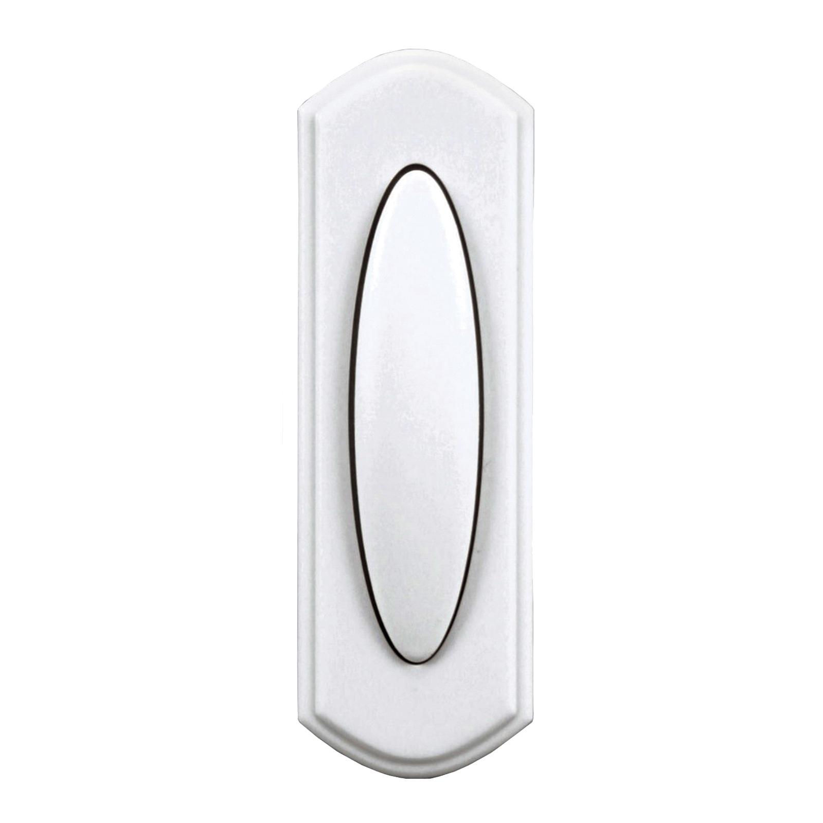 Picture of Heath Zenith SL-7797-02 Pushbutton, Wireless, Plastic, White