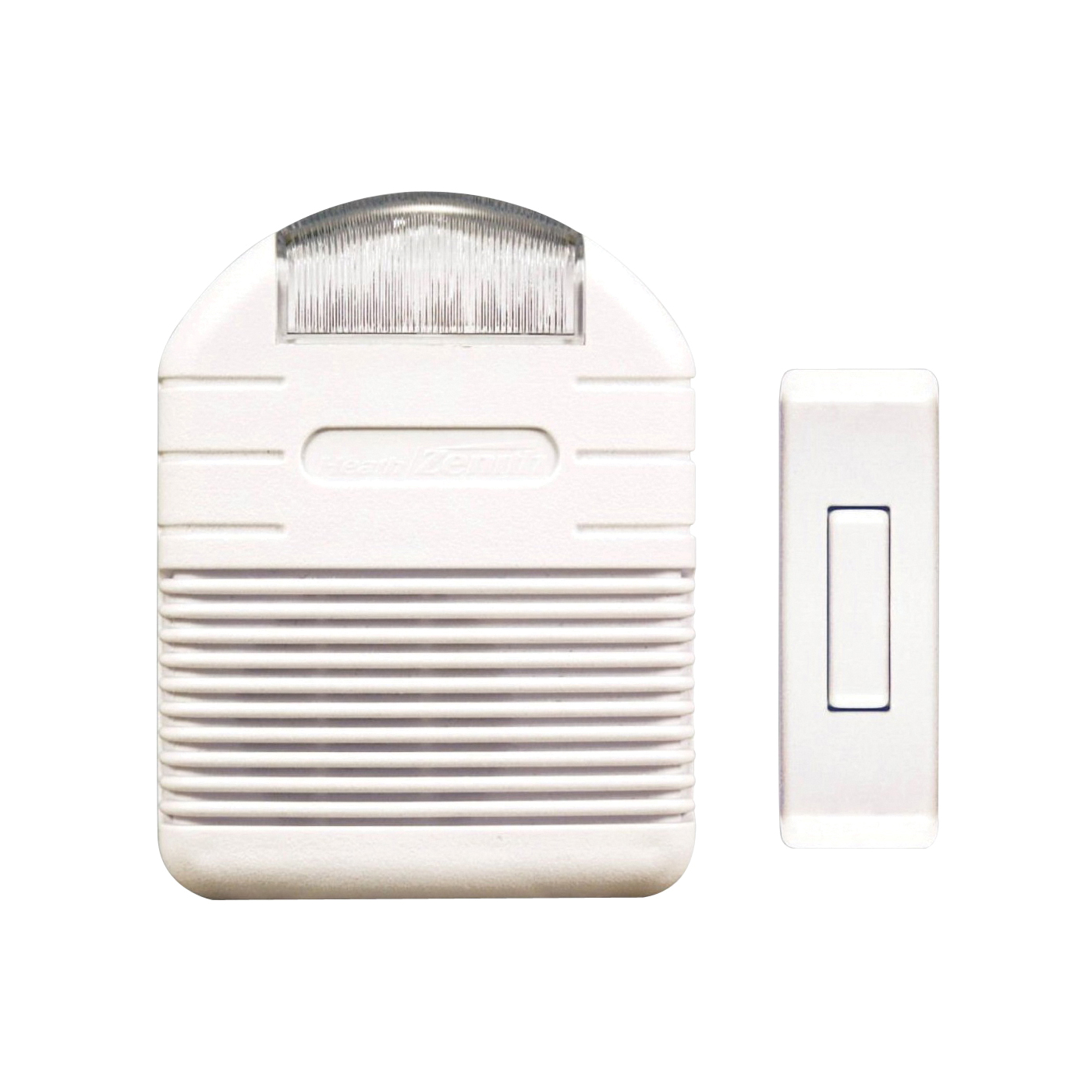 Picture of Heath Zenith SL-7744-02 Doorbell Strobe Light Kit, Wireless, Ding, Ding-Dong, Westminster Tone, 75 dB, White