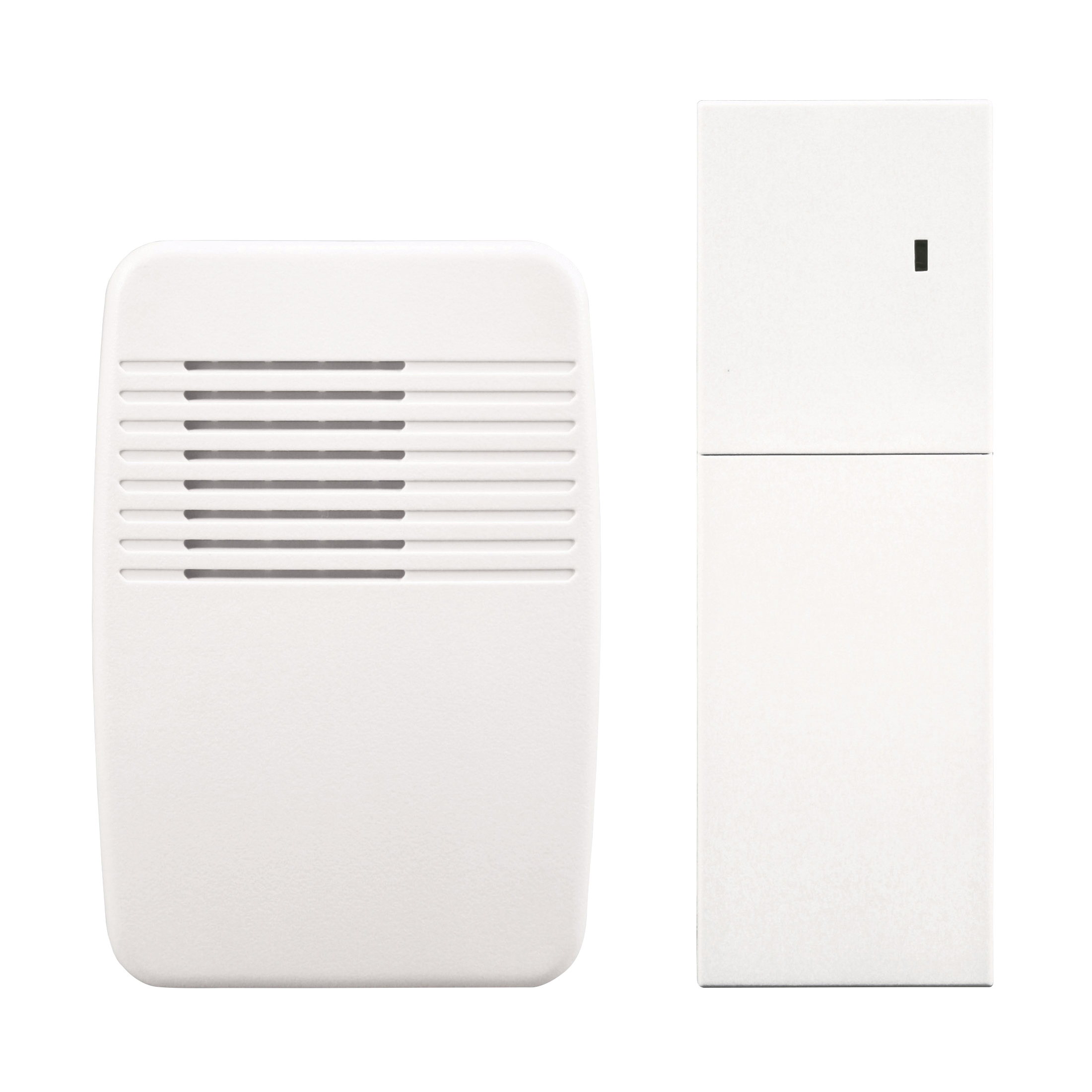 Picture of Heath Zenith SL-7357-02 Doorbell Extender Kit, Ding, Ding-Dong, Westminster Tone, 75 dB, White