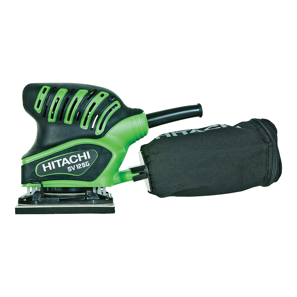 Picture of HITACHI SV12SG Orbit Finishing Sander, 1.7 A, 200 W, 4-3/8 x 4 in Pad/Disc