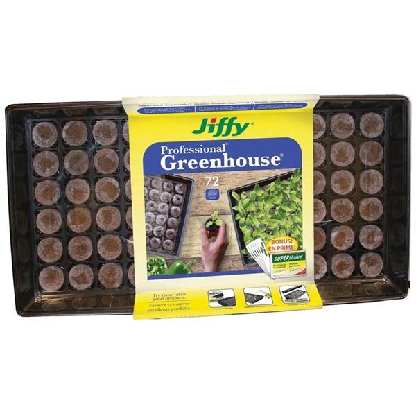 Picture of Jiffy J372ST-20 Greenhouse Pellet, 72 -Piece, Pallet