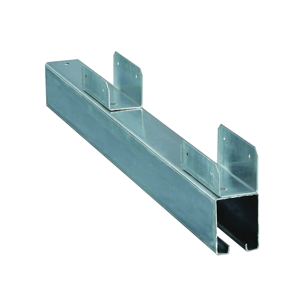 Picture of National Hardware 6061 Series 161471 Door Guide, Galvanized Steel, Bottom Mounting
