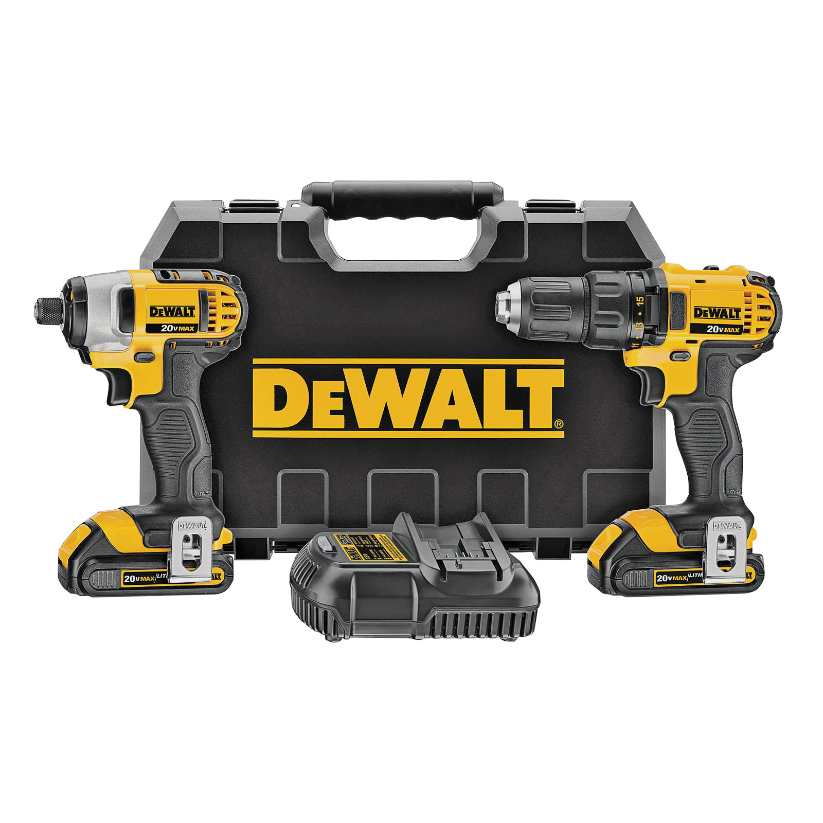 Picture of DeWALT DCK280C2 Driver Combo Kit, Battery Included: Yes