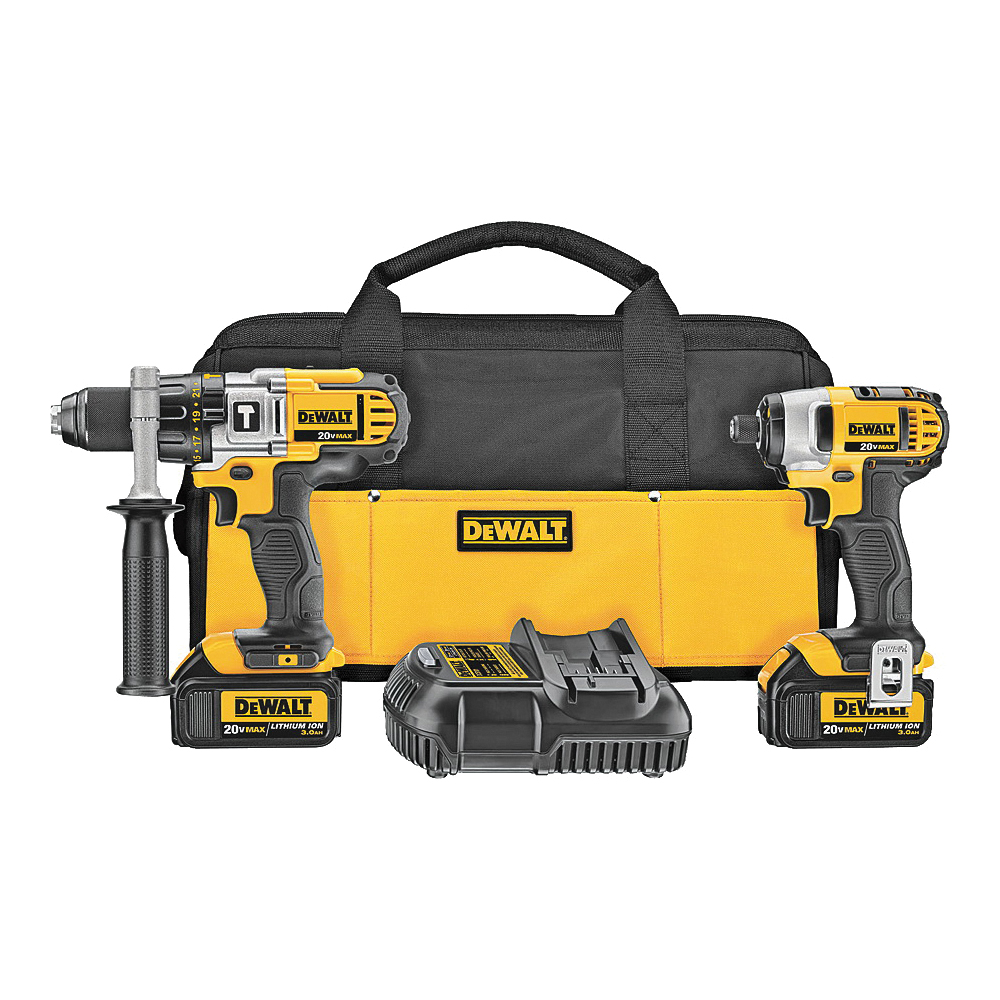 Picture of DeWALT DCK290L2 Combo Kit, Battery Included: Yes