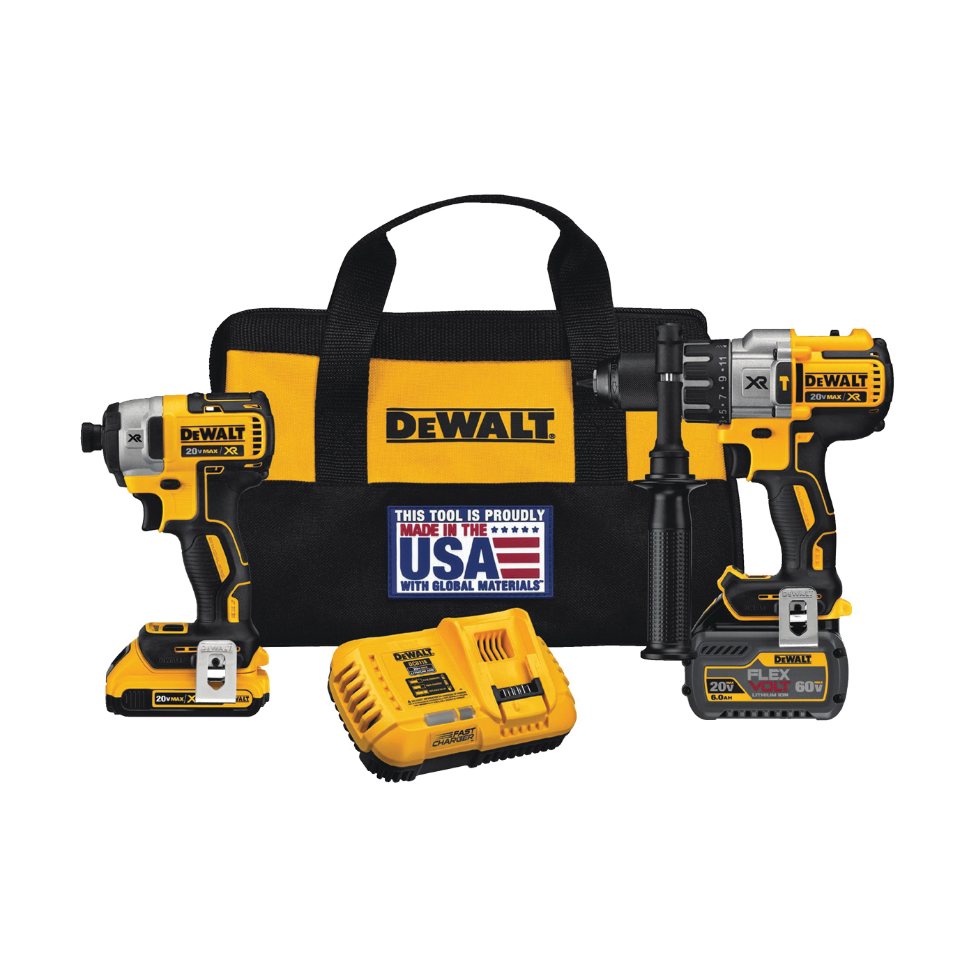Picture of DeWALT DCK299D1T1 Combo Kit, Battery Included: Yes