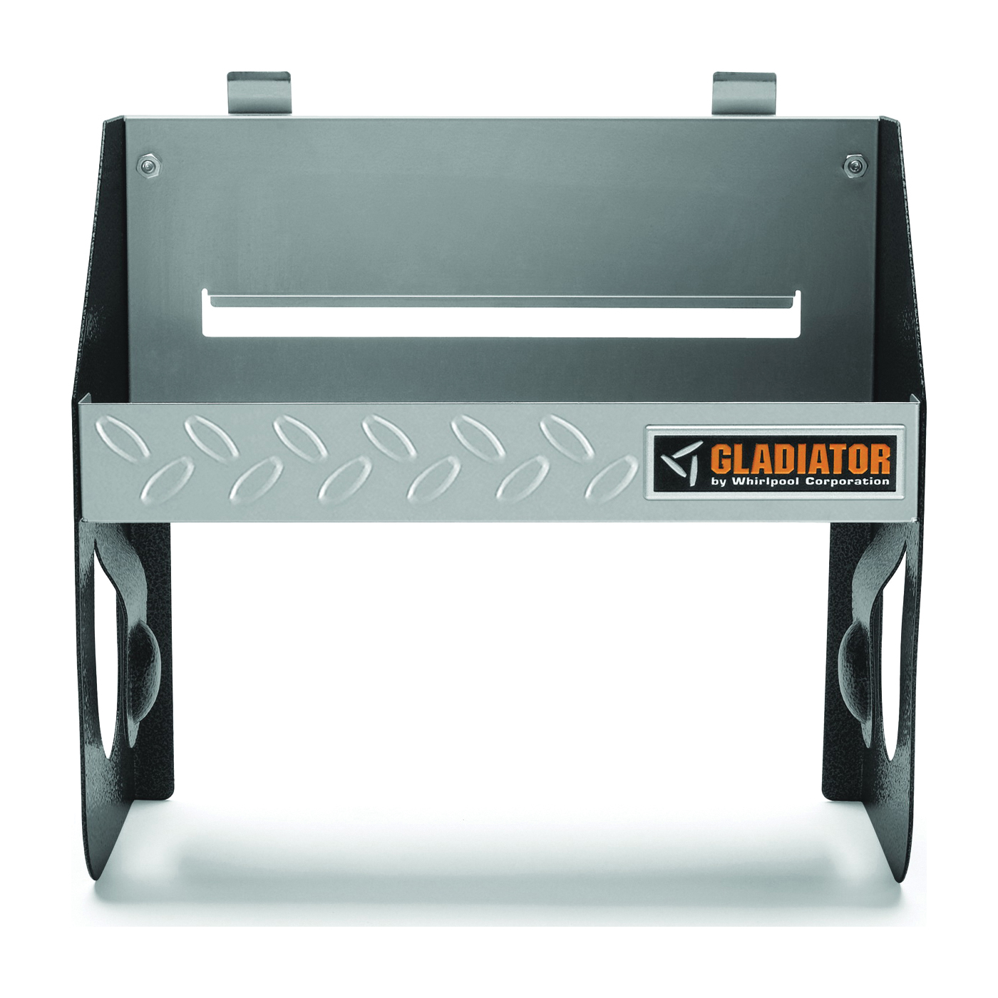 Picture of GLADIATOR GAWU12CCTG Clean Up Caddy, 25 lb Capacity, Metal, Granite, 12 in OAW, 12-3/8 in OAH, 6 in OAD
