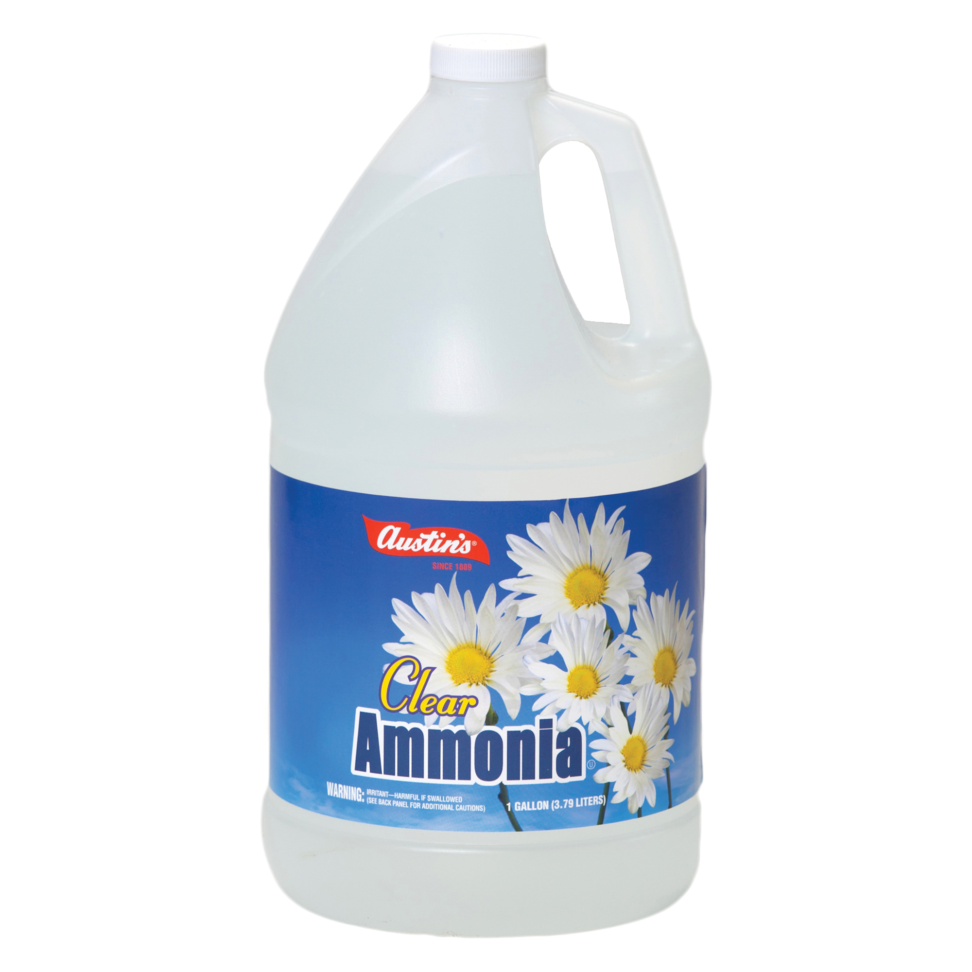 Picture of Austin 52 Clear Ammonia, 128 oz Package, Bottle, Liquid, Pungent Ammonia, Colorless