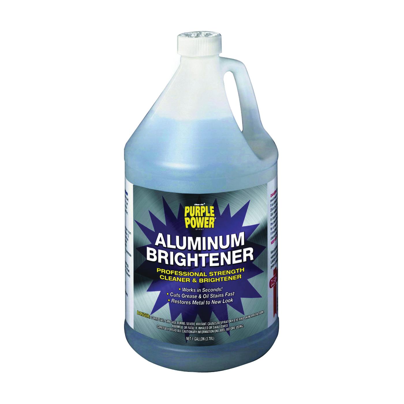 Picture of Purple Power 4120P Aluminum Brightener, 1 gal Package, Liquid, Acidic