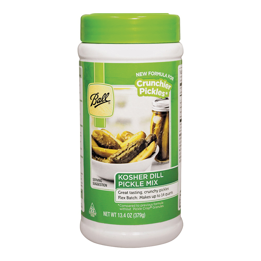 Picture of Ball 72405 Dill Flex Pickle Mix, 13.4 oz Package, Bottle