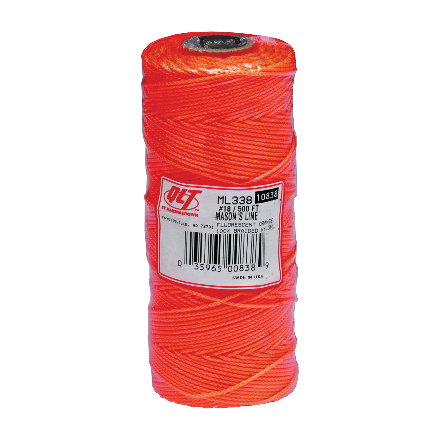 Picture of Marshalltown ML338 Mason Line, 500 ft L Line, Fluorescent Orange Line