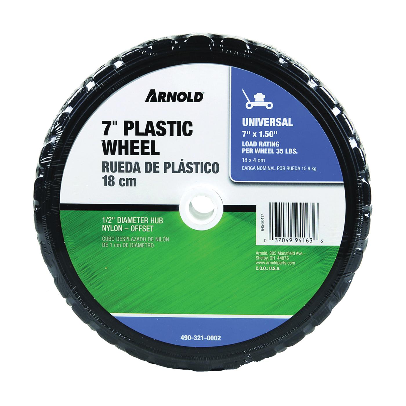 Picture of ARNOLD 490-321-0002 Tread Wheel, Plastic/Rubber