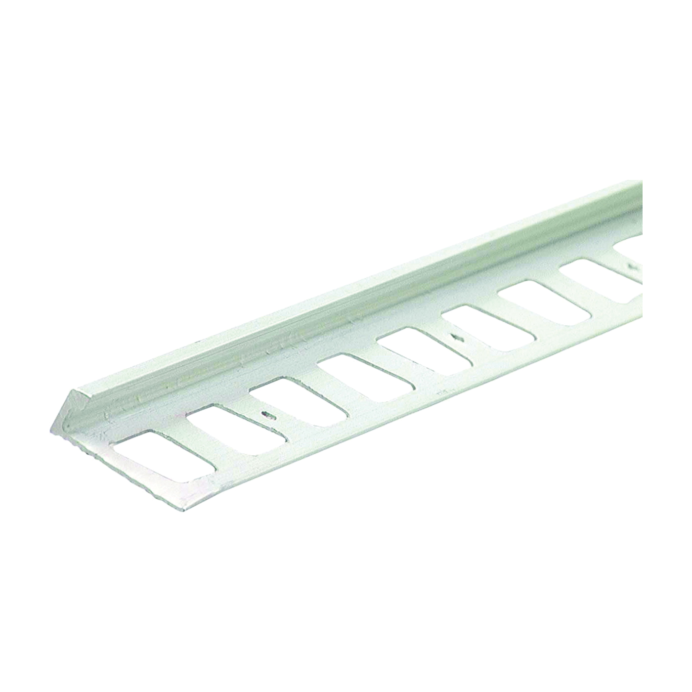 Picture of M-D 31351 Tile Edge, 96 in L, 3/8 in W, Ceramic, Clear Anodized