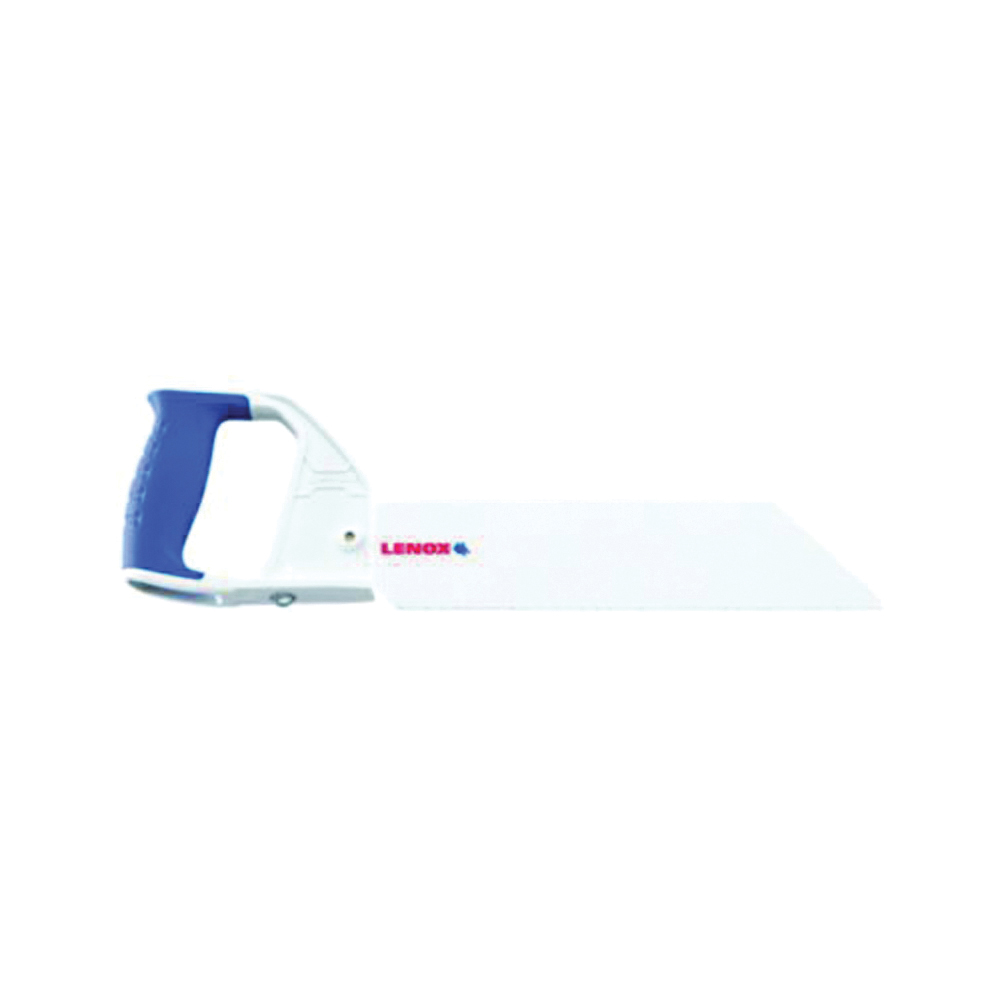 Picture of Lenox 20985HSF12 Hand Saw, 12 in L Blade, Rigid Carbon Blade, 10 TPI, Ergonomic Handle, ABS/PVC Handle
