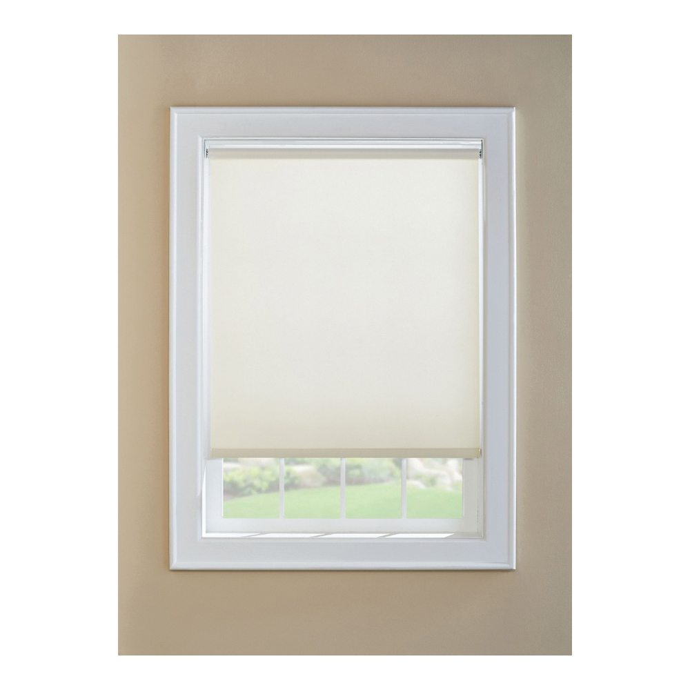 Picture of LEVOLOR SRSECF3706001D Window Shade, 60 in L, 37 in W, 1-Ply, Vinyl, White