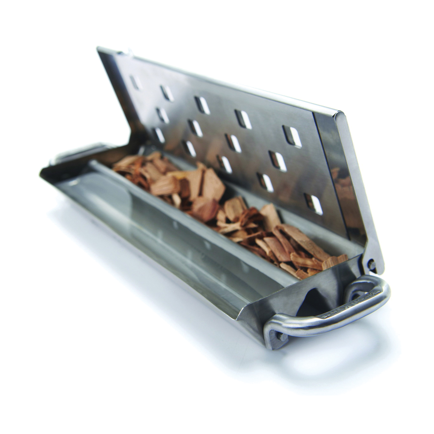 Picture of Broil King Imperial 60190 Smoker Box with Slider Lid, Stainless Steel