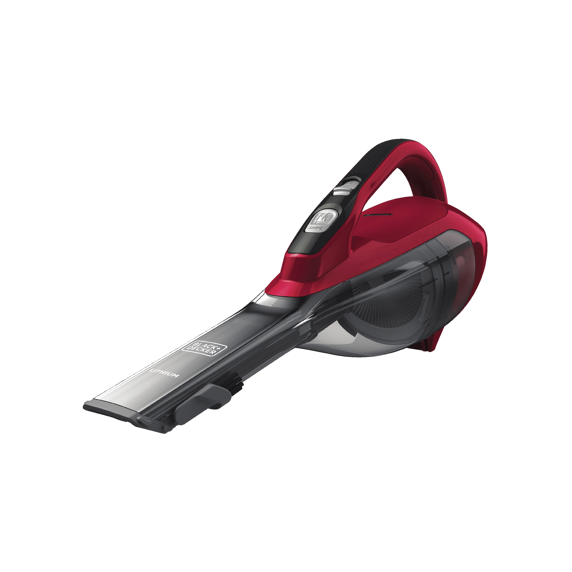 Picture of Black+Decker HLVA320J26 Hand Vacuum, 10.8 V Battery, Lithium-Ion Battery, 2 Ah, Red Chilli Housing