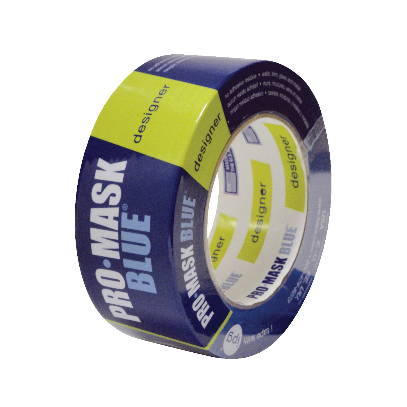 Picture of IPG PMD48 Masking Tape, 60 yd L, 1.88 in W, Crepe Paper Backing, Dark Blue
