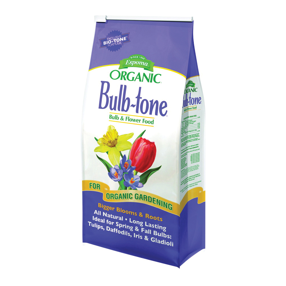 Picture of ESPOMA Bulb-Tone BT4 Plant Food, Granular, 4 lb Package, Bag