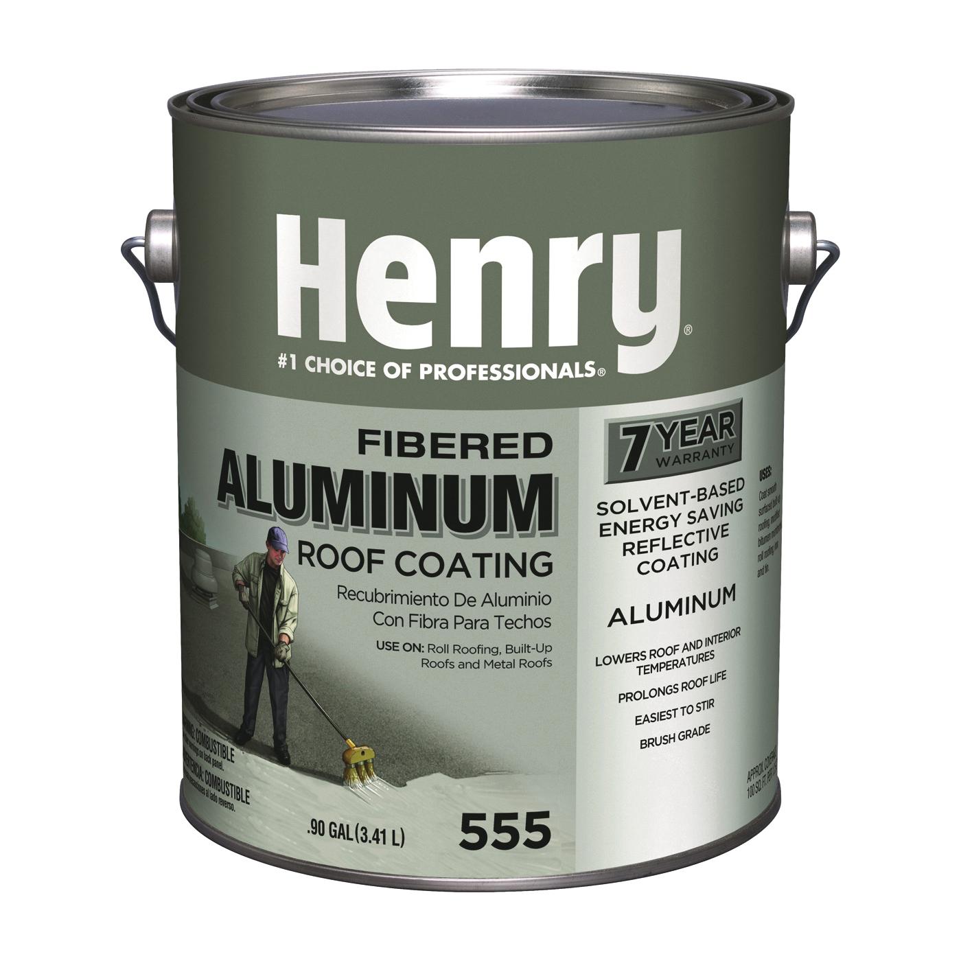 Picture of Henry HE555042 Aluminum Roof Coating, Aluminum, 3.41 L, Can, Liquid